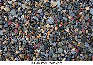 Small pebbles - Pebbles on Bracelet Bay on the Gower...