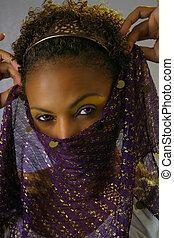 Mature Black Woman Headshot (5)