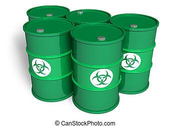 Poisonous barrels