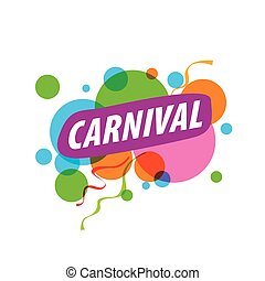 Abstract logo carnival - Abstract logo template carnival or...