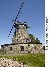 Windmill Hartum (Hille, Germany) - The windmill Hartum...