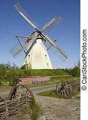 Windmill Grossenheerse (Petershagen) - The windmill...