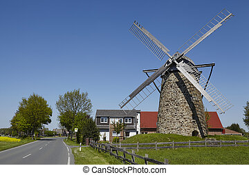 Windmill Grossenheide (Minden-Todtenhausen) - The windmill...