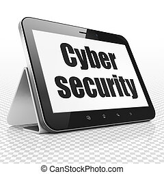 Safety concept: Tablet Computer with Cyber Security on...
