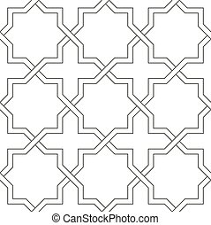 Islamic traditional pattern.