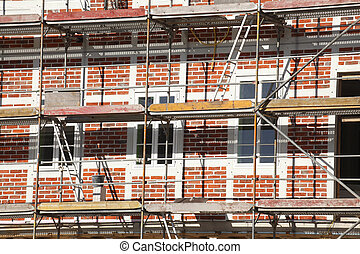 Baustelle, Altbau, Fachwerkhaus, Renovierung