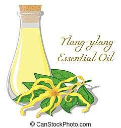 Essential oil of ylang-ylang