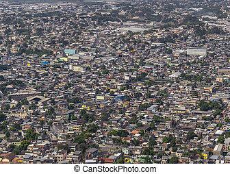 Rio de Janeiro Outskirts Aerial View