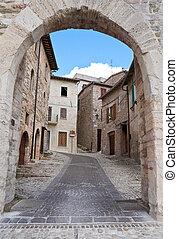 II,  Umbria,  montefalco, brama,  Federico