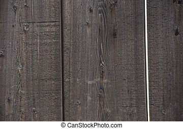 Wooden Fence - Close up of wooden fence