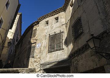 ciudad viejo espaol sitio casas turismo herencia mundo