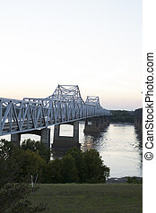 Bridge over Mississippi River - Bridge over the Mississippi...