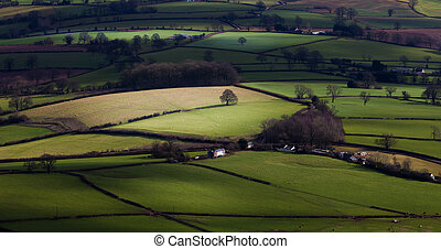 Green green grass of Wales