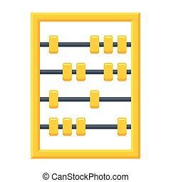 Abacus tool for calculating - Calculating tool, abacus icon...