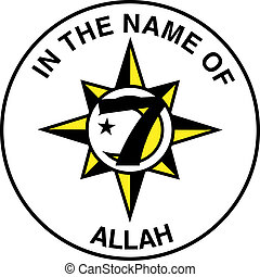 Five Percent Nation of Islam Flag - The Five Percent Nation...
