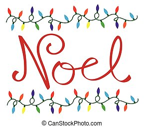 Noel Christmas Lights