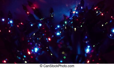 Christmas Lights twinkle two - Holiday Christmas Lights...