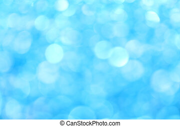 藍色, 冬天, 光, 摘要, 背景, 迷離, 閃光