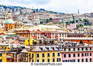 HDR Genoa, Italy