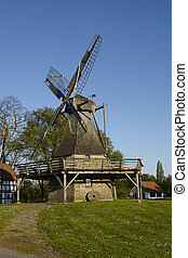Windmill Levern (Stemwede, Germany) - The windmill Levern...