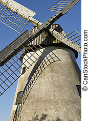 Windmill Hille (Germany) - The windmill Hille (Northrhine...
