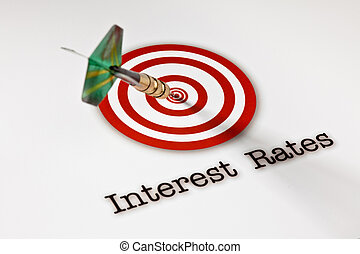 On target interest rates - Dart hitting the Bull\'s-Eye...