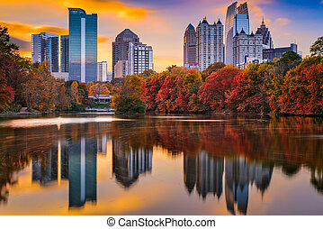 Atlanta Georgia Autumn