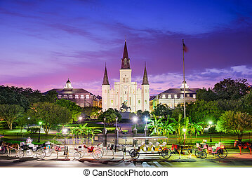 New Orleans Louisiana - New Orleans, Louisiana at Jackson...