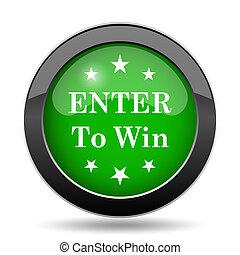 enter to win icon - photo #22