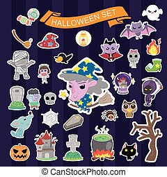 Halloween collection set
