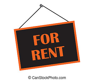 Classic For Rent Sign