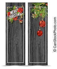 Merry Christmas greeting card template. - Merry Christmas...