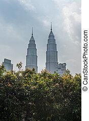 Kuala Lumpur - the Petronas Towers in Kuala Lumpur