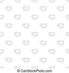 Cup pattern, cartoon style - Cup pattern. Cartoon...