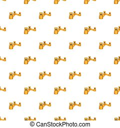 Great Wall of China pattern, cartoon style - Great Wall of...