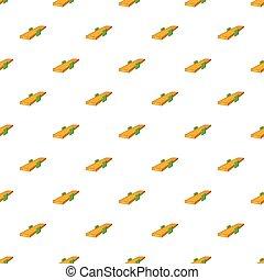 Seesaw pattern, cartoon style - Seesaw pattern. Cartoon...