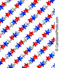 Stars patriotic background