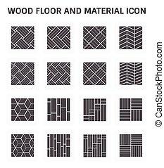 Wood Floor Icon