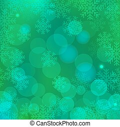 Christmas background green - Christmas green background with...