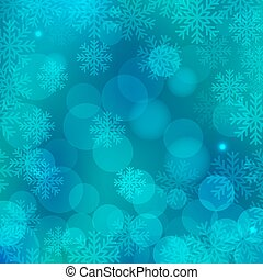 Christmas background blue - Christmas blue background with...
