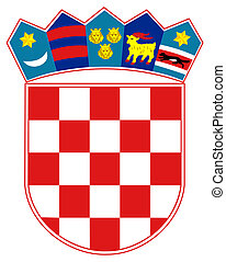 Croatia Coat of Arms - Croatia coat of arms, seal or...