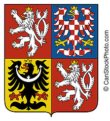 Czech Republic Coat Arms - Czech Republic coat of arms, seal...