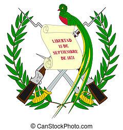 Guatemala Coat Arms - Guatemala coat of arms, seal or...