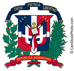 Dominican Republic Coat of Arms - Dominican Republic coat of...