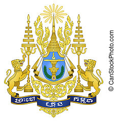 Cambodia Coat of Arms - Cambodia coat of arms, seal or...