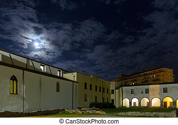 Cloister of the church of San Francesco - Particularly the...