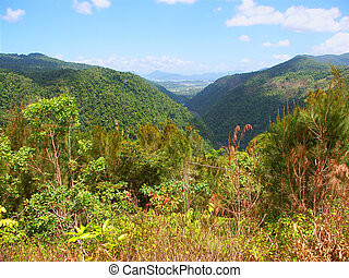 Barron Gorge National Park - View of Barron Gorge in...