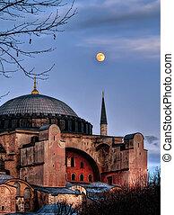 Sacred Silence - Hagia Sofia HDR - Made with HDR, Hagia...