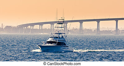 San Diego - Coronado Bridge, locally referred to as the...