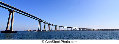 San Diego - Coronado Bridge, locally referred to as the...